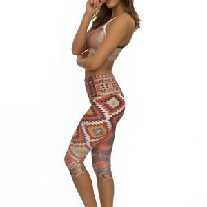 Niyamasol driekwart yogapants - capribroek - Traveler