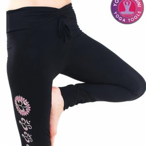 Yoga-legging 'Asana' katoen zwart L