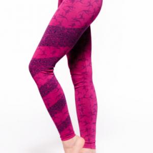 Yoga-legging Ashtanga roze M-L